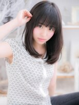 ■mod's越谷4-2★■黒髪の☆清純派小顔ストレート