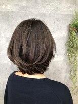 グランジュテ ヘアアンドスパ 新検見川(GRAND JETE Hair&Spa)ふんわりミディアムボブ[新検見川]