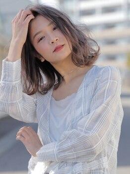 アルファサリダ(ALPHA SALIDA)の写真/【96%が自然界由来成分のAVEDAカラー★】髪のダメージを抑えて、環境にも配慮。今注目のカラーでお洒落に♪