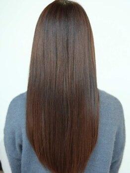 シュプール ダブル ラウンジ(SPUR W-Lounge)の写真/何度も指を通したくなる♪極上のさらツヤ髪☆真の髪質改善をあなたに…