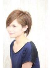 ヘアーサロン アンパス(hair salon UnPaS)unpas.前下がり耳かけショート(^O^)