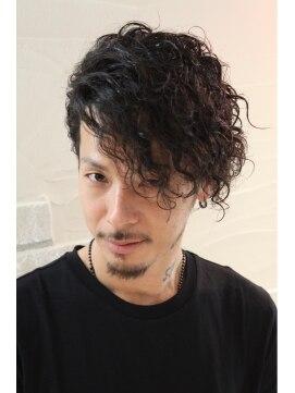 ヘアーグランデシーク Hair Grande SeeekSeeek Style 人気爆発中!!メンズパーマスタイル