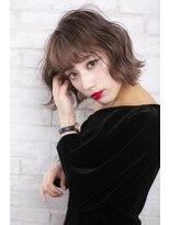 ログヘアー 大塚北口店(L.O.G hair)ウェーブウェットボブ【大塚/池袋/新大塚】
