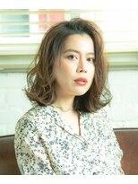 ルージュ(Rouge)【米倉和寿】外ハネボブ 流行りのアッシュブラウン