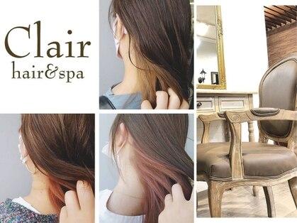 クレール ヘアーアンドスパ(Clair hair&spa)の写真