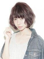 ヘアリゾート エーアイ 浅草橋店(hair resort Ai)ピンクベージュ丸みショート