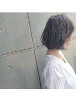 バンビーニ外国人風カラー☆ハイライトで創る透明感抜群のグレージュ☆