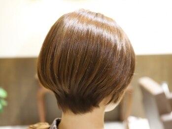 ロテ(Rote)の写真/【特にショート、ボブが大人気◎】洗練されつつも,毎朝のお手入れ簡単なショートヘアをご提案致します♪