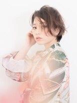 ヘアーフォトギフト(HAIR×PHOTO gift.)ゆるふわスウィートボブ