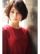 ダミア(DAMIA)◆骨格補正小顔カット☆パーソナルカラーのショートボブ☆