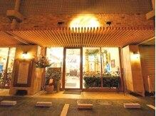 ルークス 中央林間(LOOOKS)の雰囲気(LOOOKSの玄関口☆マンションの一階部分に当店があります♪)