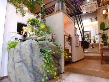 ヘアガーデン テンダネス(hair garden 10derness)の写真/【圧倒的好評★多数】「また来たい!」全ての方にそう思ってもらえるような空間創りを心掛けています。