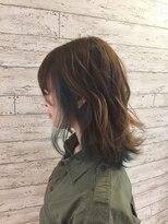 ヘアサロン ドット トウキョウ カラー 町田店(hair salon dot. tokyo color)【dusty green11】インナーカラーカラーリスト田中【町田】