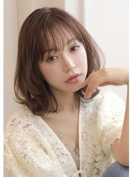 アグ ヘアー クラッセ江坂店(Agu hair classe)綺麗で可愛いを叶えるグロッシーほつれミディ