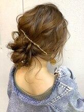 ヘアセットアンドメイクアップ シュシュ(Hair set&Make up chouchou)ルーズ☆カジュアルアップ