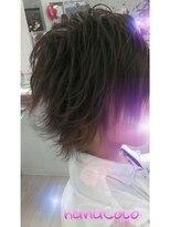 ヘアーアンドメイクサロン ハナココ(hair&make salon hana Coco)men'sスジ盛♪