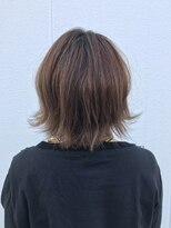 ポッシュ 原宿店(HAIR&MAKE POSH)ブルージュ ハイライト 大人ボブ スポンテニアス