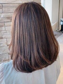 レナークアリア(LENAHC ARIA)の写真/目の肥えた大人女性にピッタリ☆こだわりの詰まった癒しのサロンで、1人1人の髪の悩みに合ったご提案を!!