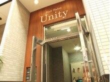 ヘアサロン ユニティ(Hair Salon Unity)の雰囲気(【近鉄奈良駅】徒歩3分。重厚なウッドベースのドアを開くと…)