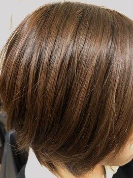 ハーツヘアーズ 上安店(HEARTS hair's)の写真/【オーガニックカラー】頻繁に染めたいからこそ、ダメージを抑えたこだわりカラーでおしゃれを楽しむ!