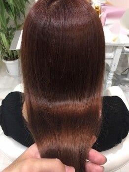 ヘアサロン ブランチ(Hair salon Branch)の写真/【上乃裏】カラーのダメージが気になる方!オーダーメイドのAujuaTRで髪質改善しハイトーンでもうるつや*