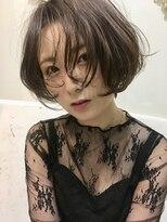 マハナ(Mahana by hair)*ボブパーマ*