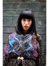 レイブ アクション アンド ヘアー 北千住店(rave Action and Hair)Tropical Bird Color by Manic Panic