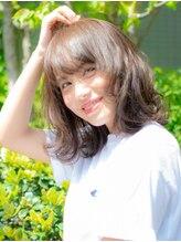 キサファータ(kisa fata)大人かわいいミディアムヘア