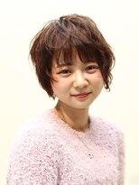 ヘアークリニック ラクシア 石巻(Hair Clinic LAXIA Ishinomaki)ふんわりガーリーショート
