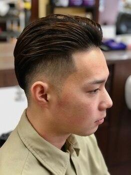 キングズバーバーショップ ツービッツ(King's Barbershop 2-bits)の写真/満足するのは価格だけじゃない!巧みなカット技術をご提供<男性Cut+うなじ剃り+頭皮ケアShampoo 新規¥2800>