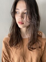 ロニカ 銀座(LOuNICA)髪質改善シスパーマ ニュアンスカール