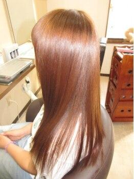 コアフィールフィス(COIFFURE fils)の写真/【M3Dストレート¥19440~】「光輝く天使の輪が出来た!」「美ツヤ髪に生まれ変わった!」と大好評★