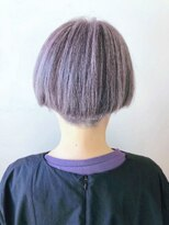 【JLB・jun】白髪を活かしたピンクシルバー