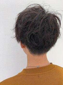美容室 パザパ 東海村(PA.ZA.PA.)の写真/【メンズ頭皮ケア◇小顔カット+選べるスパクレンジングorリンパ流し¥5500】でさわやかな好印象Styleに◇