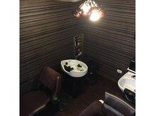 グレース ライフ ヘアー スタジオ(GRACE LIFE Hair Studio)の雰囲気(半個室空間のリラグゼーションの出来るシャンプー室)