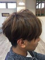 ヘアアトリエ バル(hair atelier bal)ゆるフワアシメ