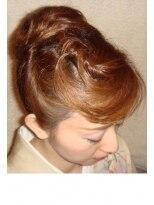 ボーチェ(beauche)和装アップは夜会巻きの日本髪!披露宴に御呼ばれに着付け♪蕨店