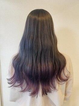 アンティコ(antico)の写真/【似合わせカットクーポンあり♪】トレンド×個性を引き出すデザインカラー☆褪色後もキレイな髪をキープ!