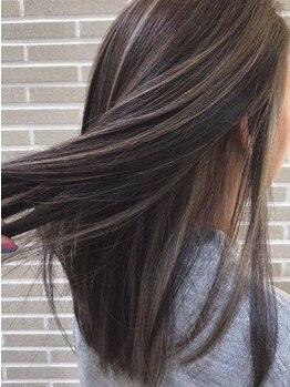 ニューヨークニューヨーク パピオス明石店(NYNY Mothers)の写真/【明石駅前】髪に必要なタンパク質を補給☆とってもダメージレスな似合わせトレンドカラーで貴女の一番を♪
