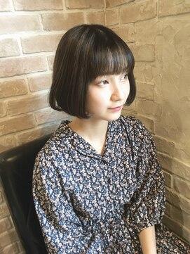 ノアーズアーク(NOAH'S ARK)【オシャレ可愛い!!】 マニッシュ・ショートボブスタイル☆