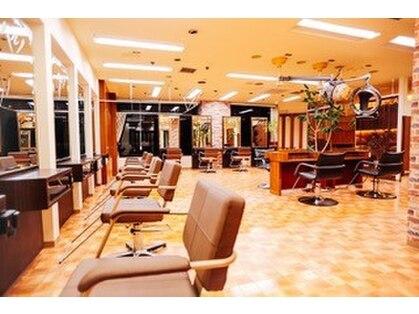 美容室ティーライズグループ 美容室ベルノ VERNOの写真
