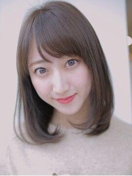 アグ ヘアー シーモ 下関店(Agu hair seamo)柔らかカラーで小顔ワンカールボブディ