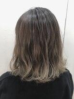 ヘアーアンドメイク ルシア 梅田茶屋町店(hair and make lucia)シフォンベージュのグラデーションカラー