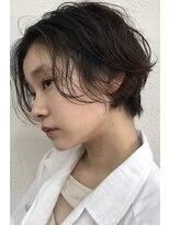 バルーンヘアー(BALLOON HAIR)wet short bob