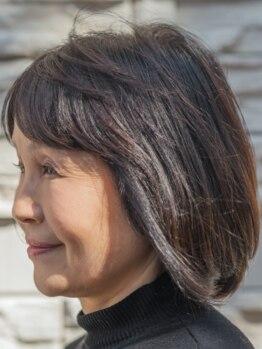 エーアンドケイ(A&K)の写真/髪と頭皮を傷ませない!高度なカラー技術と高品質薬剤で、理想通りの仕上がりに。