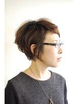 ラトリエコンタン(L´atelier Content)【L`atelier Content YUMI】短めショートボブ