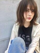ブルース(blues)☆☆blues☆☆タマキstyle 198 大人かわいいバレイヤージュ/ボブ