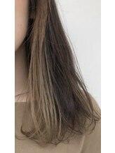 エスヘアー 名古屋 金山(es hair)大人かわいい艶!シークレット『イヤリングカラー』【髪質改善】