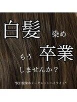 脱白髪染め/シークレット ハイライト