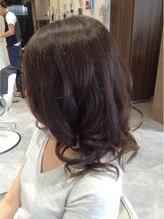 ハートライン(hair bridal Heart Line)ミナカット&カラー